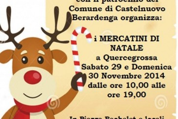 Mercatini di Natale e solidarietà a Quercegrossa
