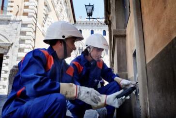 Lavori Enel in centro storico