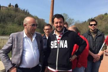 """Salvini: """"Se volete prenotare una vacanza gratis, chiamate la Prefettura di Siena"""""""