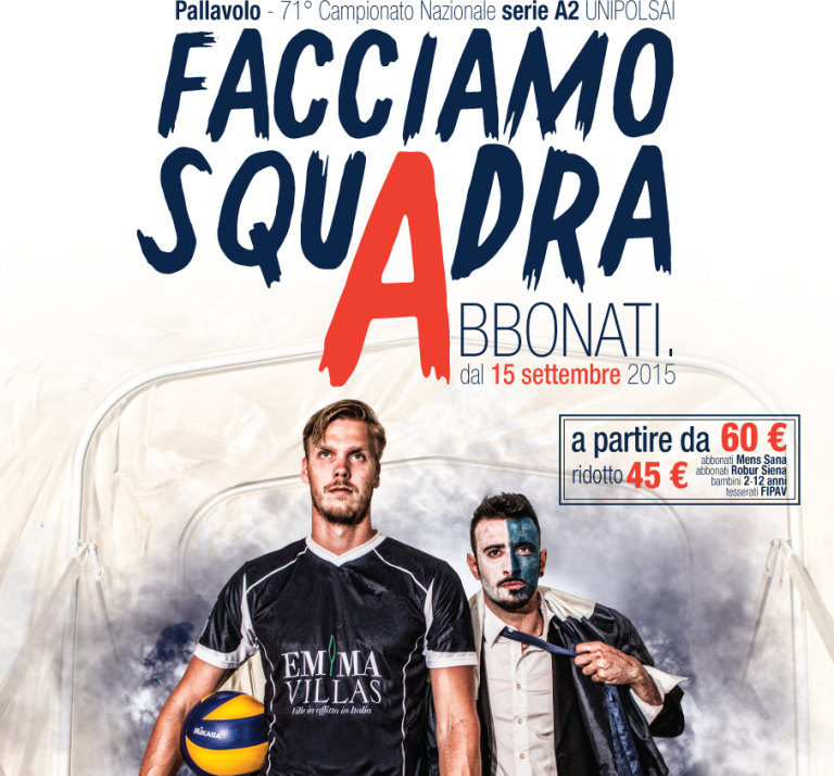 Volley: Chiusi dà il via la campagna abbonamenti
