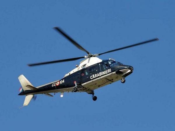 Elicottero 412 : Mobilitazione per un cercatore di funghi smarritosi il