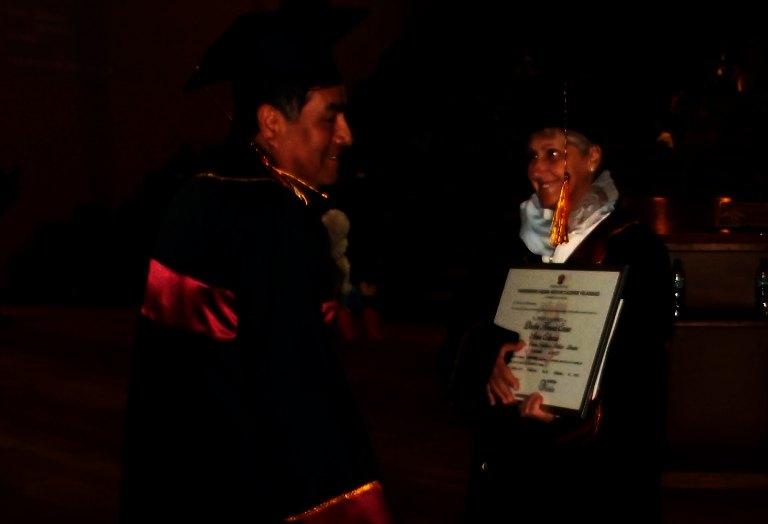 Università del Perù: laurea honoris causa ad Anna Coluccia