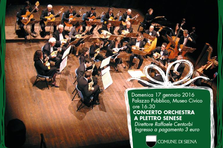Domenica 17 Gennaio Mercato Antiquariato, Concerto Orchestra A Plettro  Senese E Tour Delle Edicole. SIENA.