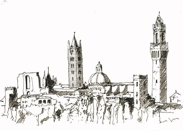 Una mostra di disegni di tassoni all 39 ordine degli for Disegno di architettura online