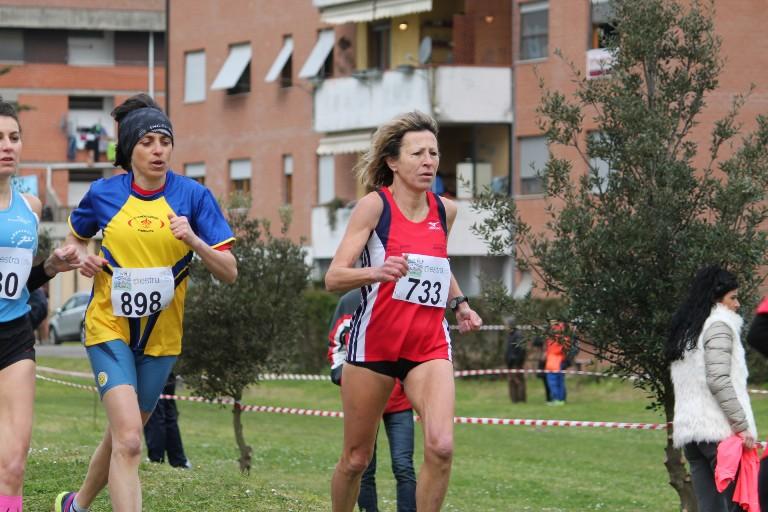 Antonella Sassi campionessa italiana UISP di corsa campestre