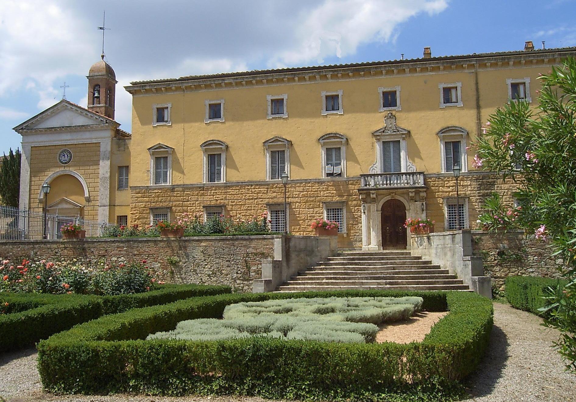 Visite guidate e degustazioni a Villa Chigi con L'Eroica