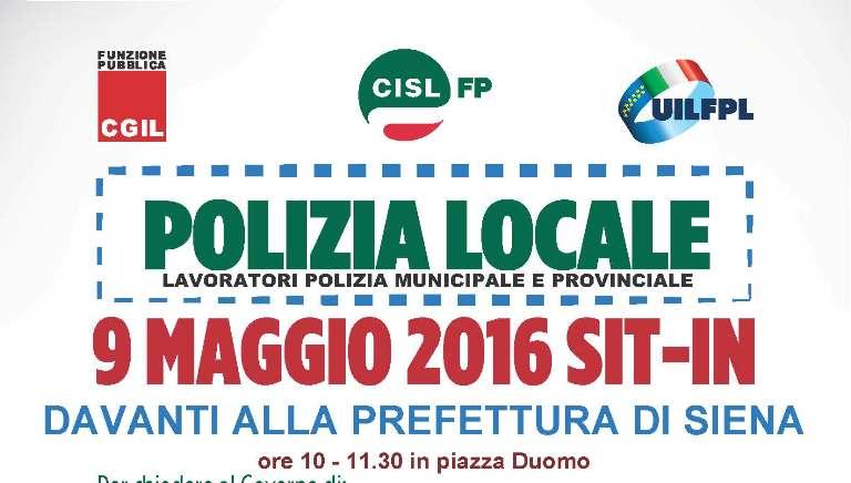 Mobilitazione della Polizia locale: delegazione di sindacati e lavoratori dal Prefetto
