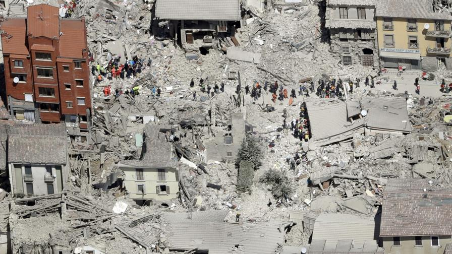 Terremoto Amatrice Home Page