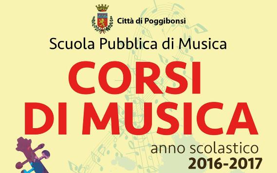 Scuola Pubblica  di Musica: aperte le iscrizioni