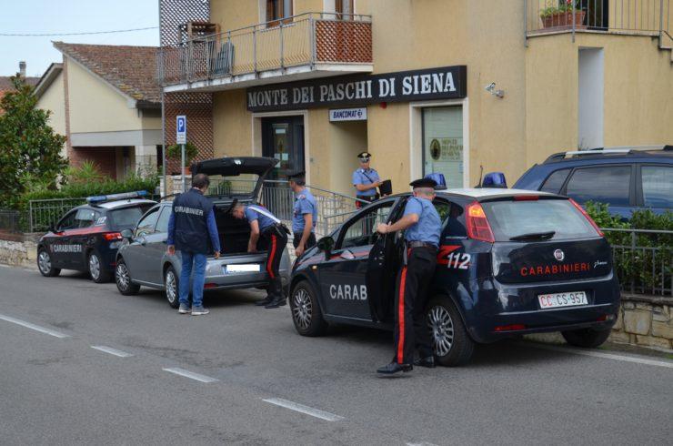 Rapina in banca San Casciano dei Bagni, arrestati i responsabili