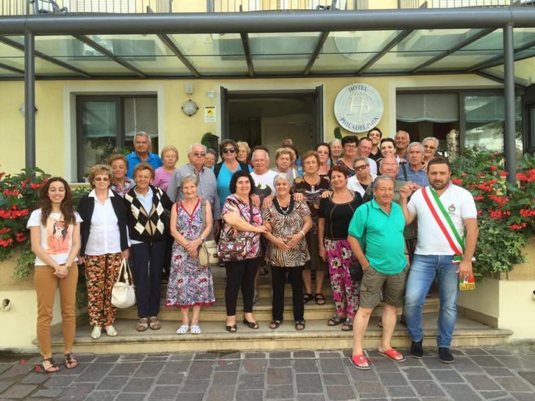 Chiusi: Sindaco ed Assessore in visita al mare dagli anziani