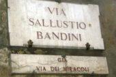 Il 25 e 26 ottobre lavori in via Bandini e dintorni