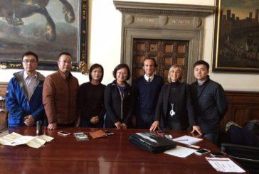 Delegazione cinese ricevuta in Comune