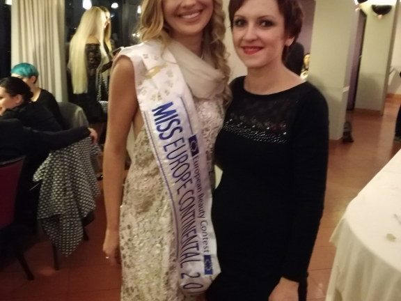 Miss Europe Continental: una truccatrice arriva da Siena