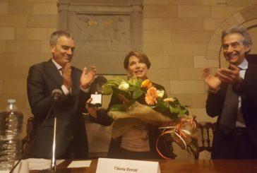 """Vittoria Doretti premiata per il """"codice rosa"""""""