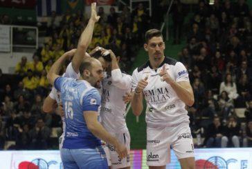Siena sconfigge Mondovì 3-1 e ritorna in vetta