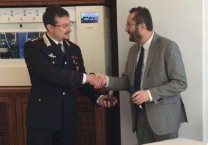 grifo straordinario 2 300x210 Grifo Poliziano straordinario al capitano dei Carabinieri Ernesto Fusco