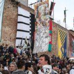 corteo vittoria porta a sole 150x150 Palio dei Somari: Porta Nova e Cobra in trionfo
