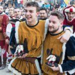 tamburini porta a sole 150x150 Palio dei Somari: Porta Nova e Cobra in trionfo