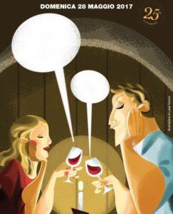"""Locandina Cantine Aperte in Toscana 2017 243x300 Parte dal Vinitaly la """"rivoluzione"""" comunicativa del vino toscano"""