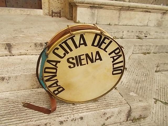 La banda Città del Palio si esibisce in Piazza