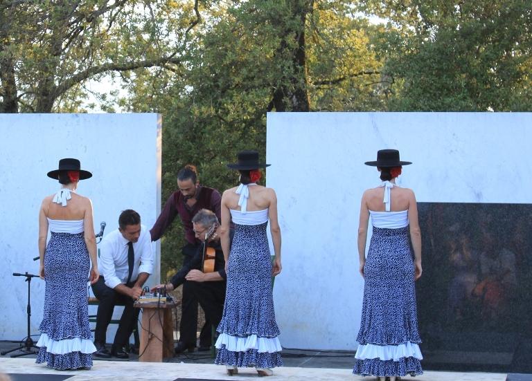 Sentir Flamenco per le serate musicali all'Anfiteatro