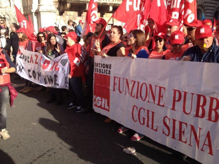 Lavoratori Usl Toscana SE verso lo stato di agitazione
