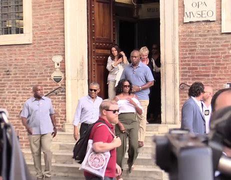 Obama colpo di fulmine per Simone Martini e Siena: