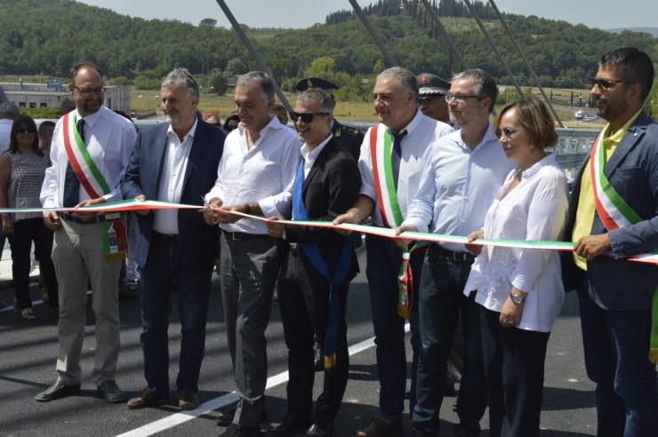 Apre la bretella tra le province di Siena e Firenze