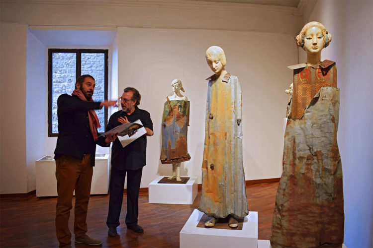 """Deli a San Gimignano, ultimi giorni di """"scultura ecologica"""""""