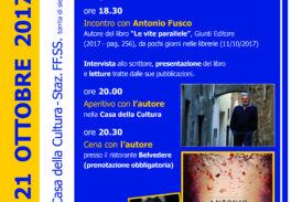 Il 21° Culturativo è con Antonio Fusco