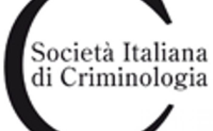 A Siena il XXXI Congresso della Società Italiana di criminologia