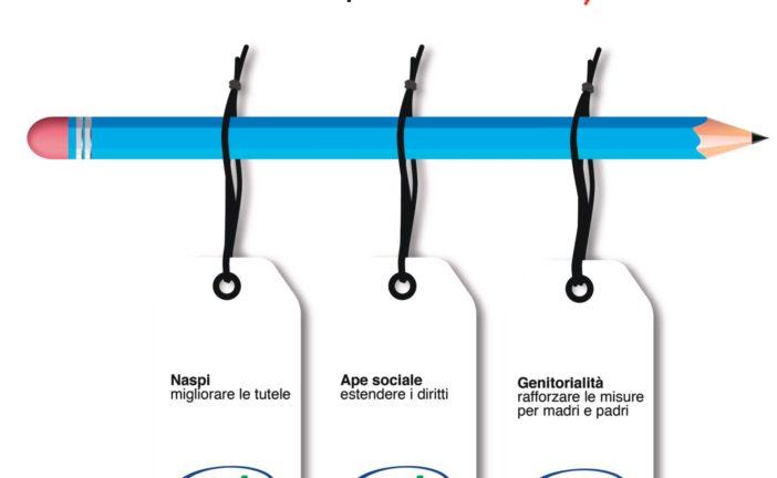 Naspi, Ape sociale, sostegno a maternità e paternità: due proposte di legge