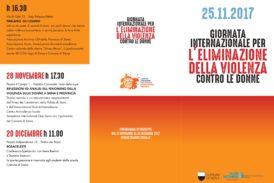 Al via gli eventi per la Giornata Internazionale contro la violenza sulle donne