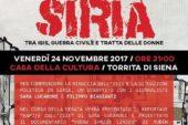 La situazione della Siria, tra guerra civile e tratta delle donne