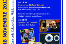 Il 22° Culturativo di Torrita è con Stefano Solventi