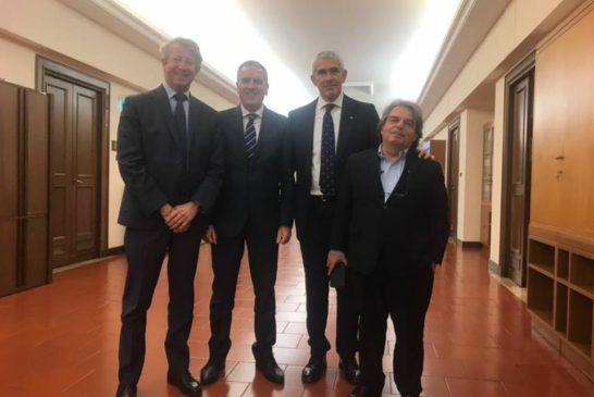 Valentini a Roma incontra i vertici della Commissione sulle banche