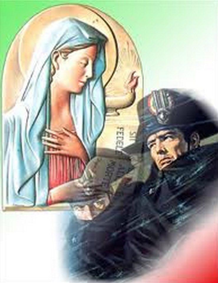 Risultati immagini per carabinieri virgo fidelis foto