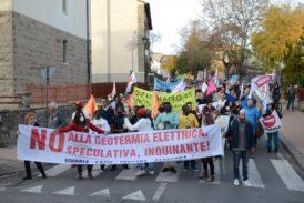 A piedi da Abbadia a Piancastagnaio per protesta