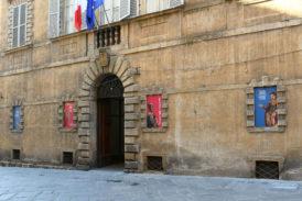 Visite a Palazzo Chigi Piccolomini alla Postierla e alla cappella del Taja