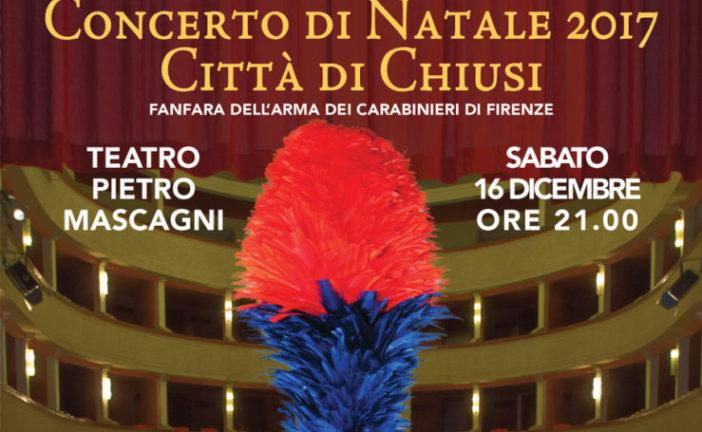 A Chiusi il concerto di Natale con la Fanfara dei Carabinieri