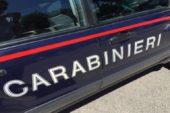 I Carabinieri soccorrono automobilisti bloccati nel bosco