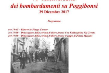 Poggibonsi ricorda i 74 anni del bombardamento