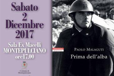 """A Montepulciano si presenta """"Prima dell'Alba"""" di Paolo Malaguti"""