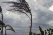 Allerta arancione per vento su tutta la regione