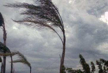 Codice arancione per il vento fino al 26 marzo