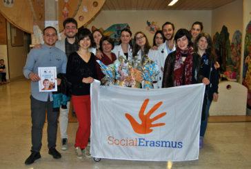 Gli studenti Erasmus donano uova alla Pediatria