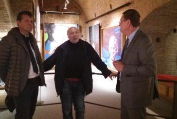 L'Ambasciatore del Belgio Carruet in visita al Comune di Siena