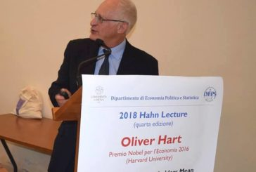Lezione del premio Nobel Hart ad Economia