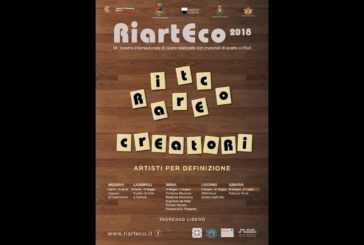 """Riarteco 2018: la """"carovana"""" per l'arte dei rifiuti, dalla Sicilia a Siena"""